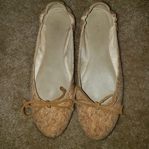 Cork Sperry shoes